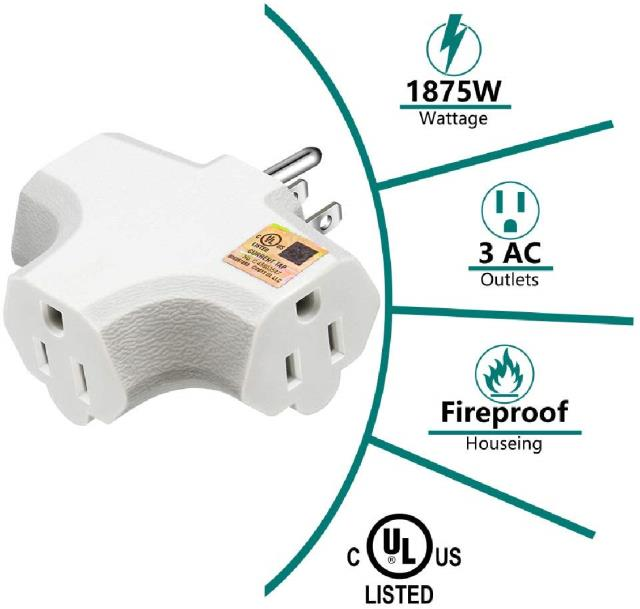 Where to find EXT CORD, 3  TRIPLE SOCKET in Chicago