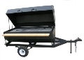 Where to rent BBQ, Propane - 72 x31  Towable - W Cover in Chicago IL