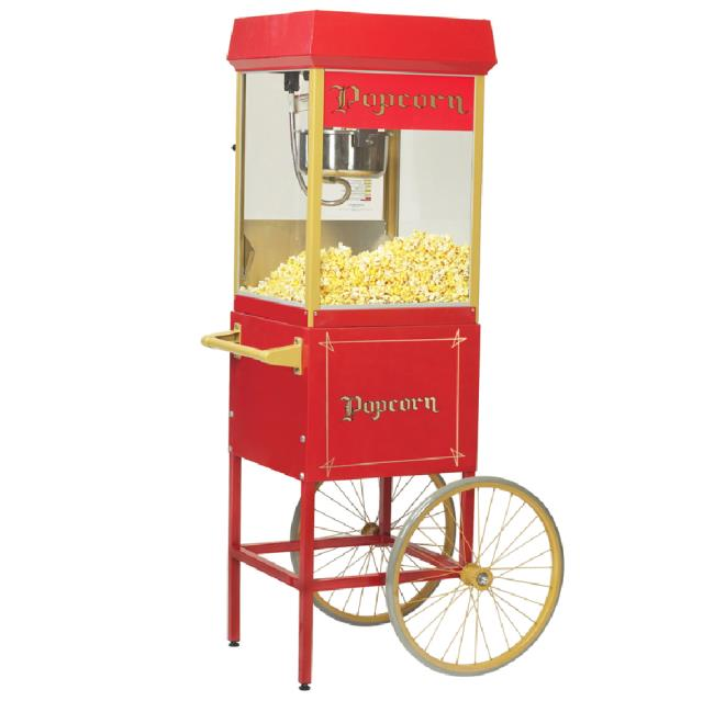 Where to find POPCORN MAKER ON 2 WHEEL CART in Chicago