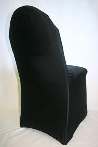 Where to find CHAIR COVER BLACK spandex in Chicago