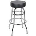 Where to rent BAR STOOL, Black naugahide in Chicago IL
