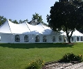 Where to rent 40x140, WHITE - CENTURY POLE TENT in Chicago IL