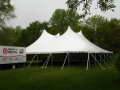 Where to rent 60x 60, WHITE - CENTURY POLE TENT in Chicago IL
