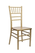 Where to rent CHAIR, CHIAVARI GOLD in Chicago IL