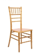 Where to rent CHAIR, CHIAVARI NATURAL in Chicago IL