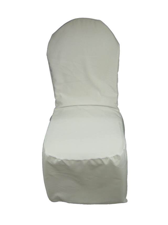Where to find CHAIR COVER, WHITE ROUND TOP poly in Chicago
