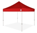 Where to rent CANOPY, 10x10 EZUP RED w 4sandbag in Chicago IL