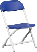 Where to rent CHAIR,  KIDS BLUE FOLDING in Chicago IL