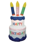 Where to rent HAPPY BIRTHDAY CAKE INFLATABLE in Chicago IL