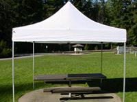 Rent E-z Up Tent / Customer Set Up